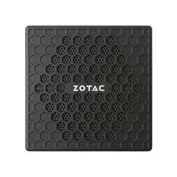 Mini PC ZOTAC ZBOX CI323, Intel Quad Core N3150, 4GB, SSD 120GB, HDMI, Display Port, VGA, 2x RJ45, Wifi  - Engemicro