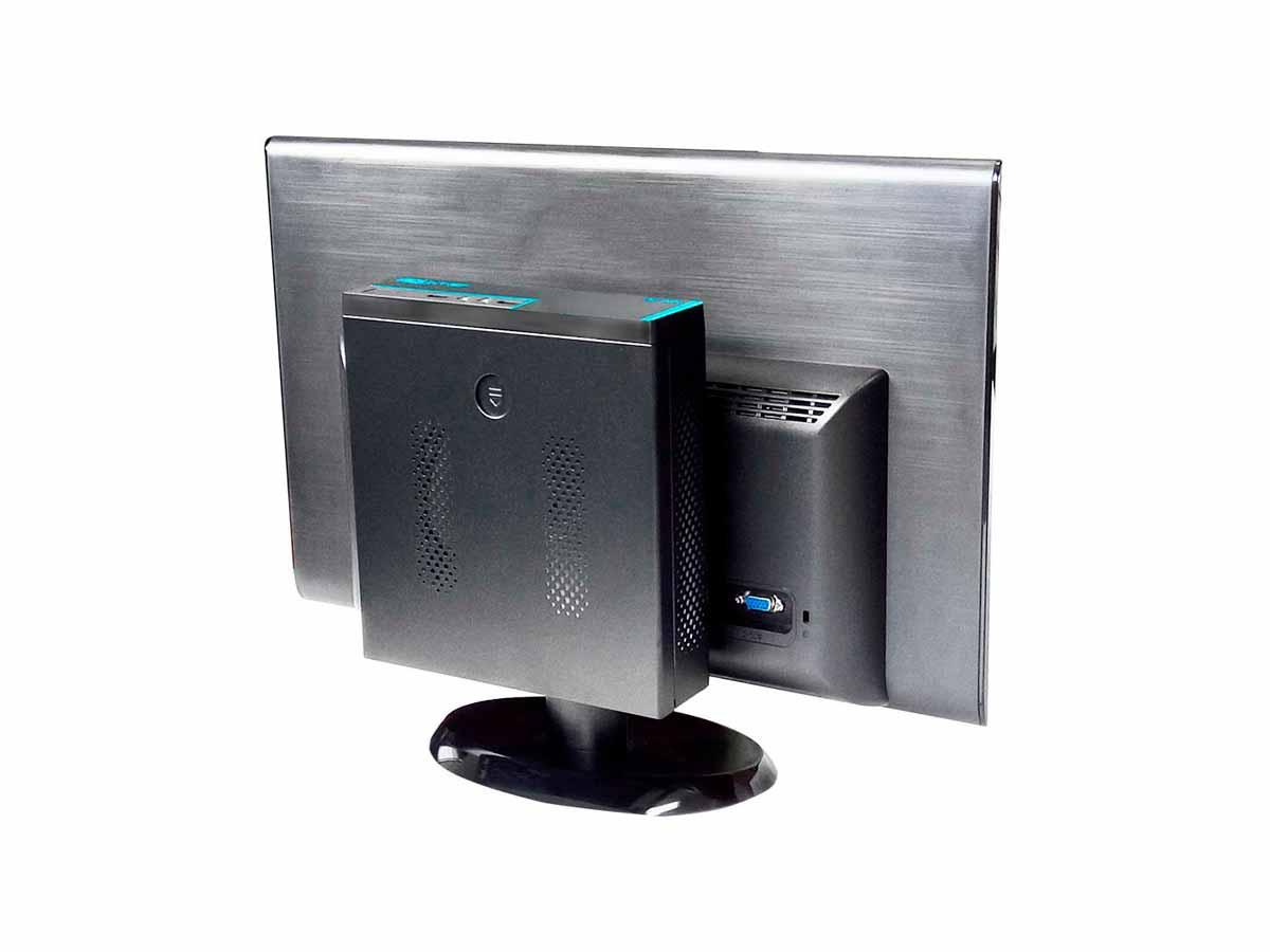 Mini PC Bluetech 2K-V2 J1800 Intel Dual Core, 4GB DDR3, SSD 120GB, HDMI, VGA, 2x Seriais  - Engemicro