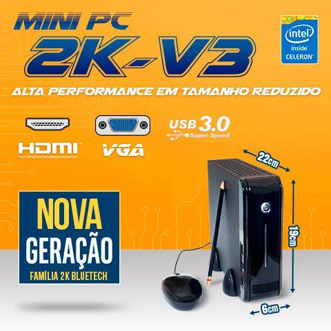Mini Pc Ultratop Intel Dual Core J3060 4gb 120gb Ssd Serial  - Engemicro