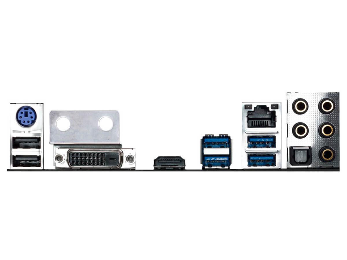 Placa Mãe Biostar Z270GTN Socket 1151 DDR4 M2 HDMI DVI RJ-45 USB 3.0  - Engemicro