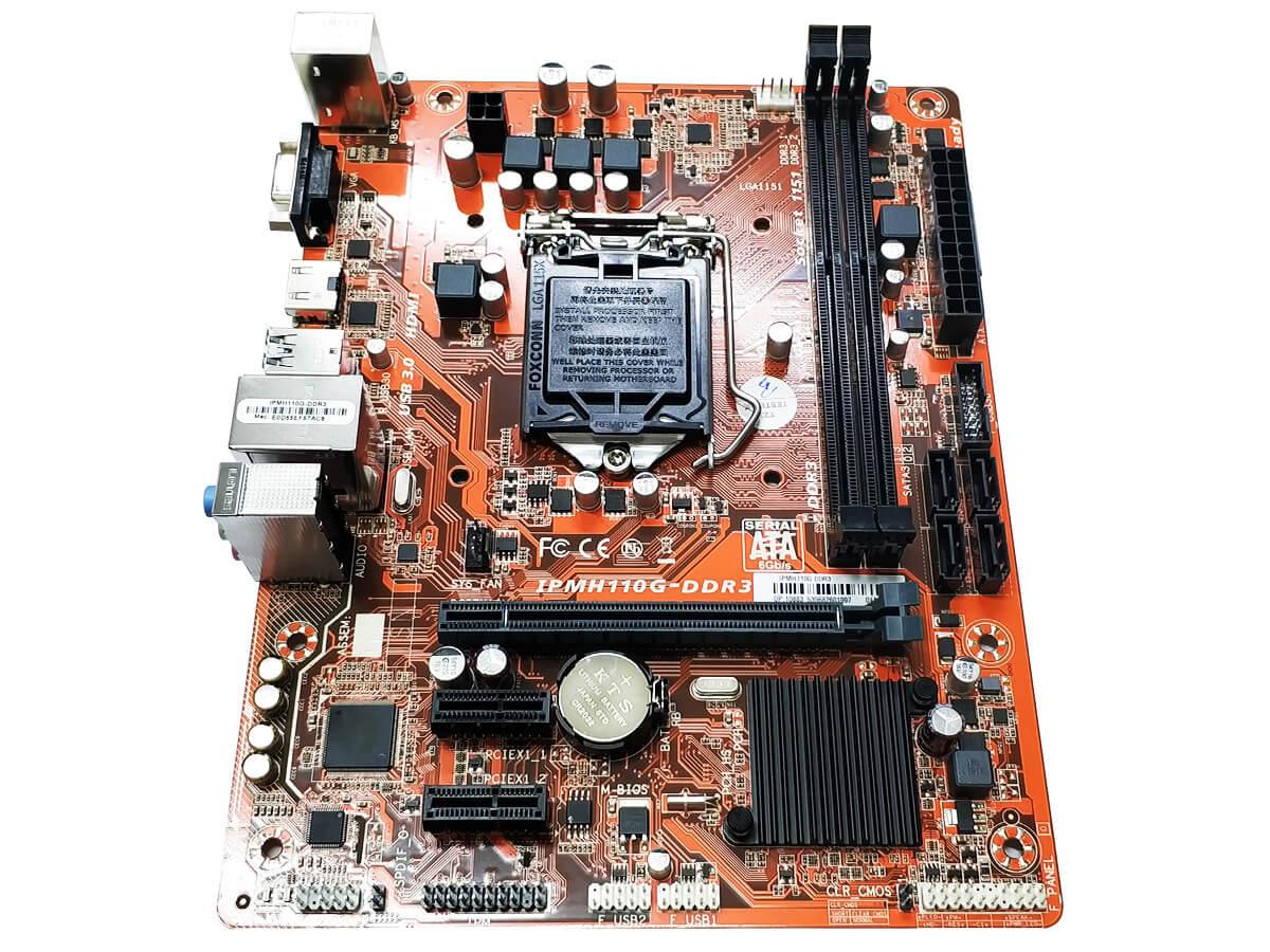 Placa Mãe Intel Pcware Oem Ipmh110g Lga 1151 DDR3 Hdmi/vga/usb3.0  - Engemicro