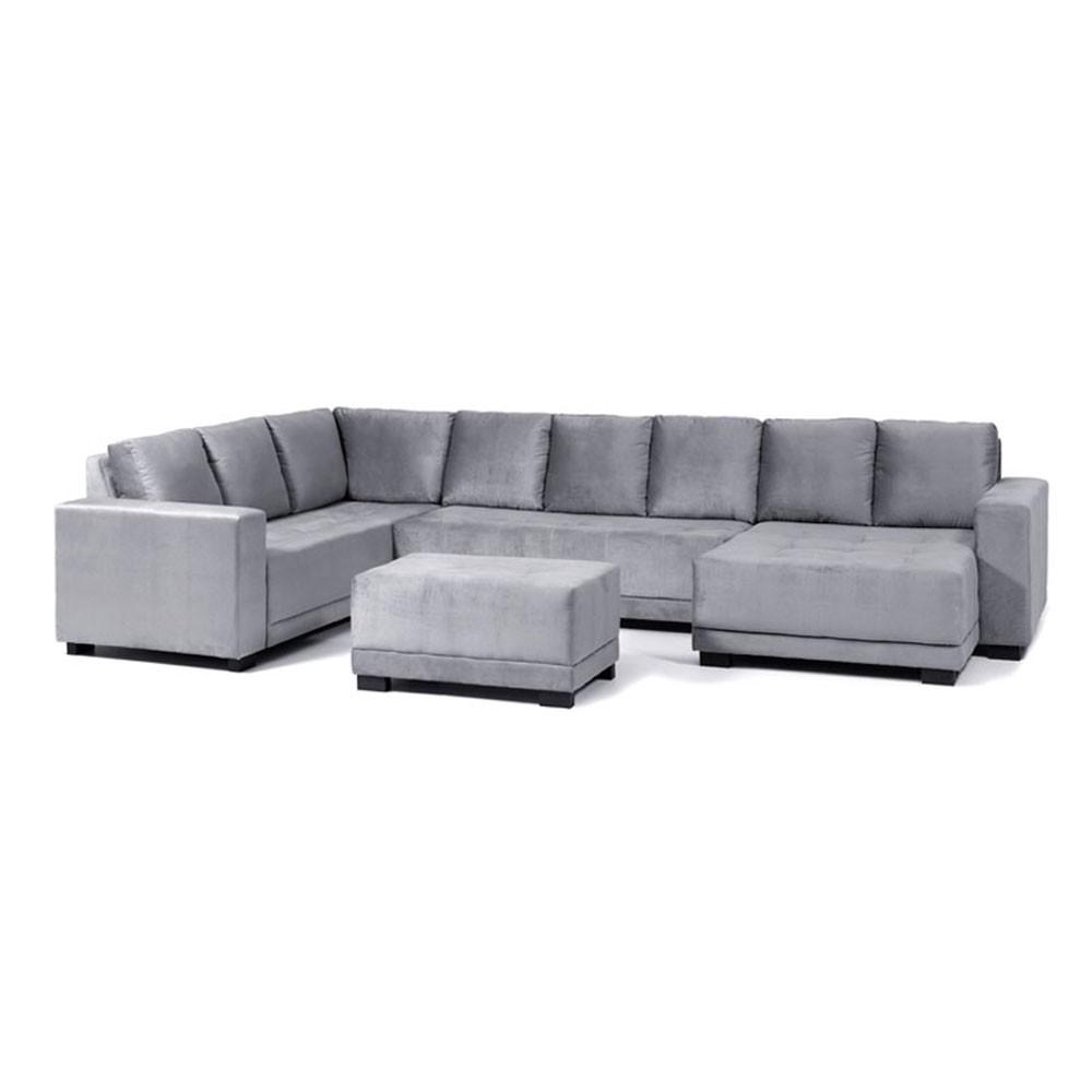sof 8 lugares net pacific canto com 2 bra os chaise On sofa 8 lugares com chaise