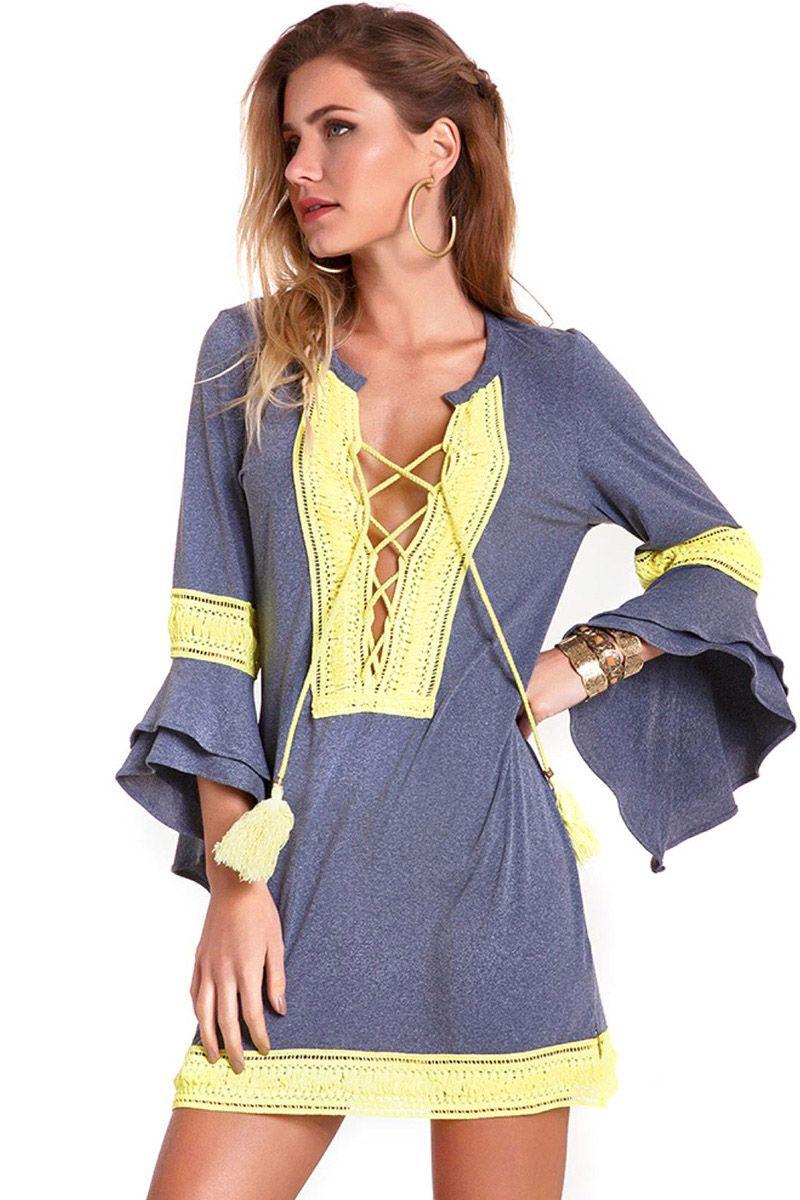 Kimono Rufflebomb Mescla