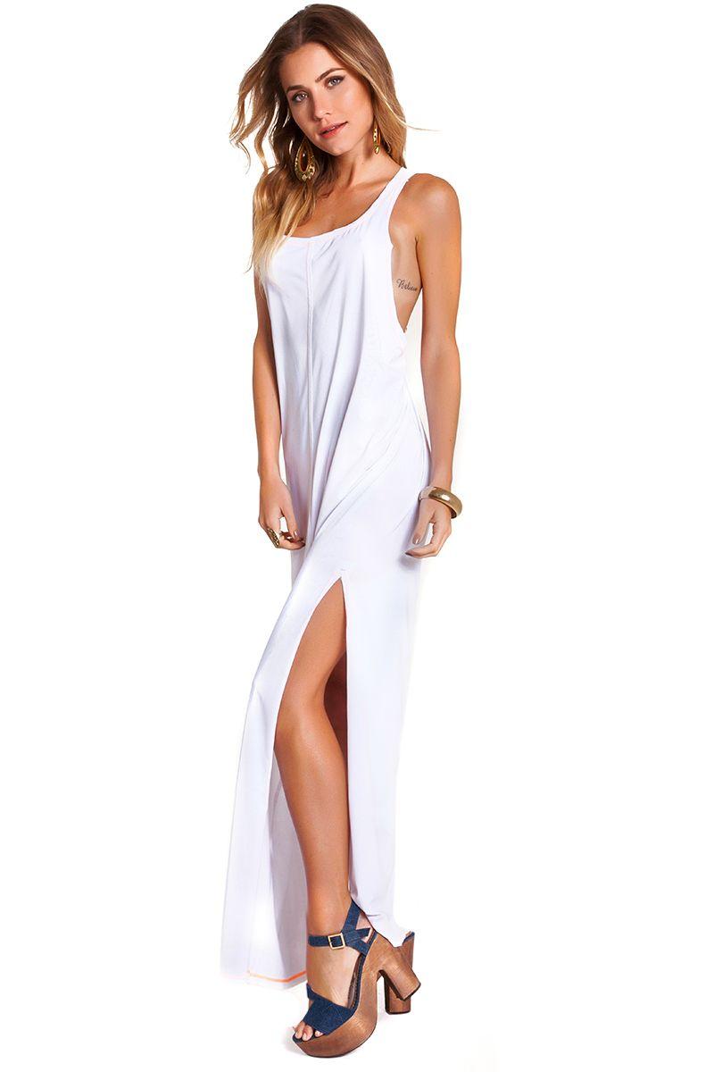 Vestido Regata Branco