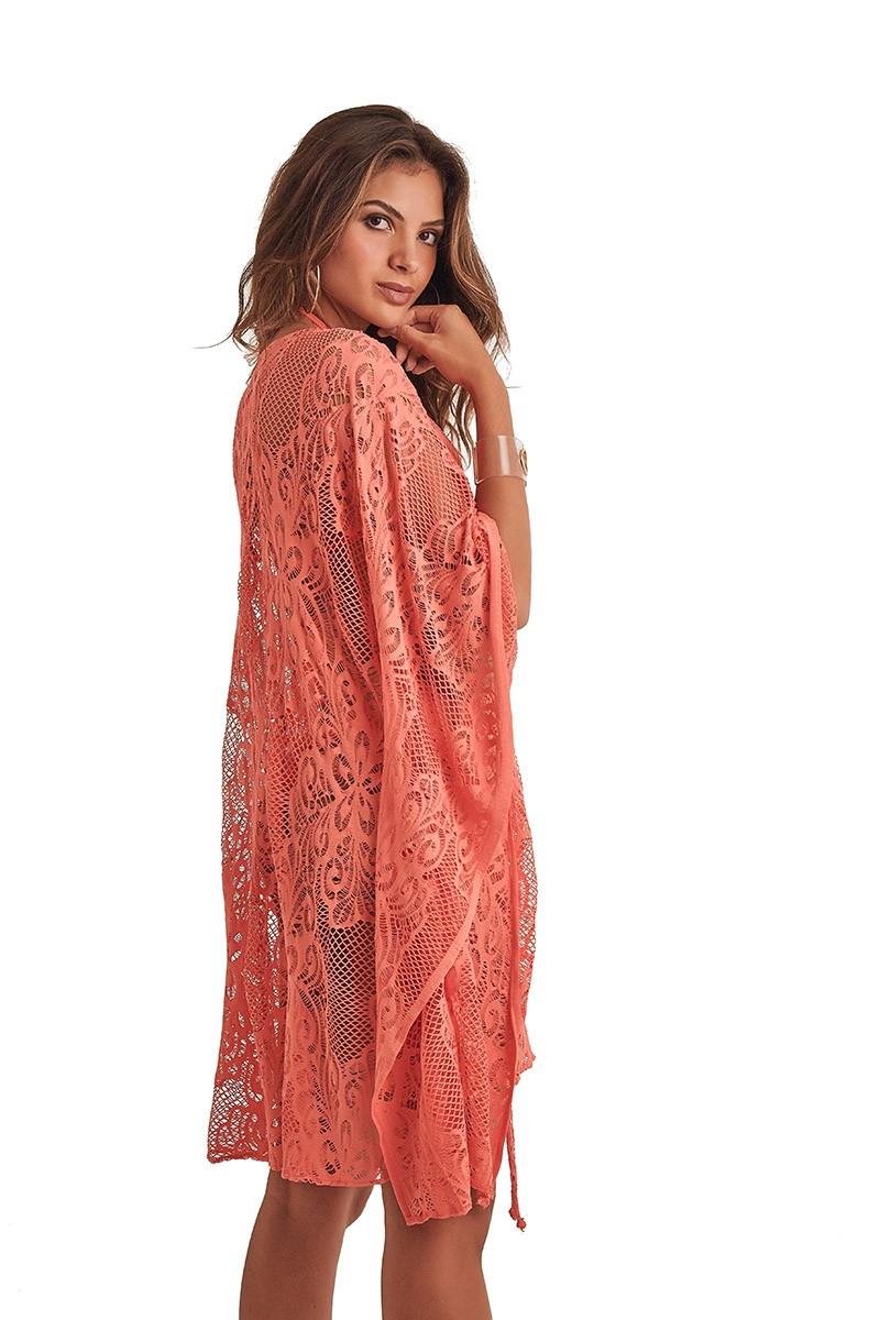 Kimono Malaga Coral