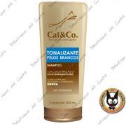Shampoo Tonalizante para pelos brancos