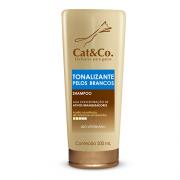 Shampoo Cat & Co Tonalizante de pelos brancos