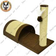 Túnel com poste Marrom