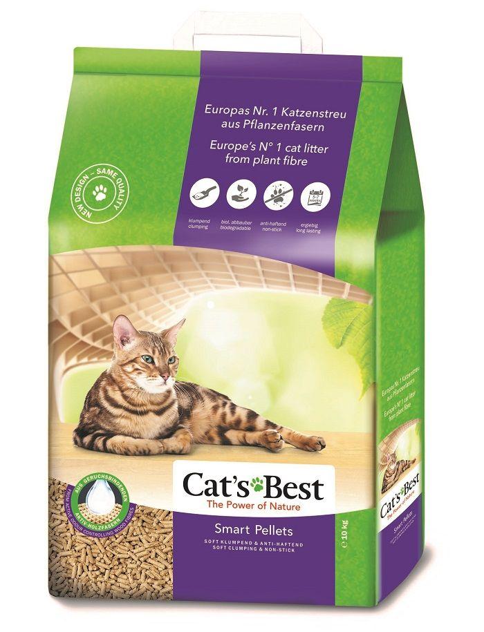 Cats Best Biodegradável Smart Pellets 5 / 10 kg