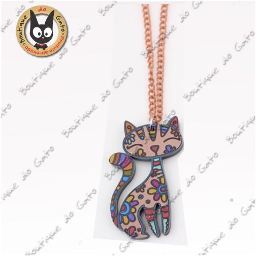 Colar Gato Egípcio