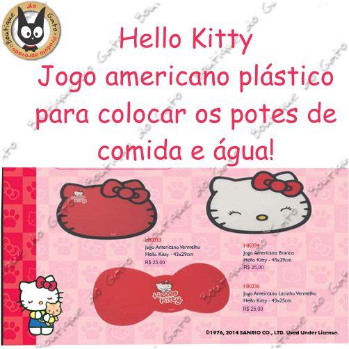 Jogo Americano Hello Kitty