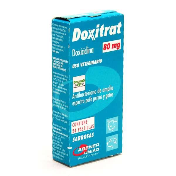 Doxitrat caixa com 24 Comprimidos - 80mg