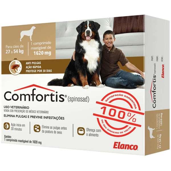 Anti Pulgas Elanco Comfortis 1620 mg para Cães de 27 a 54 Kg