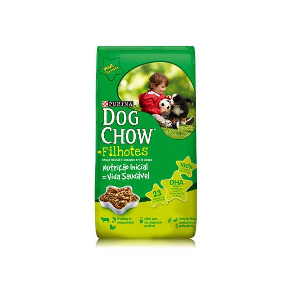 Ração Nestlé Purina Dog Chow Filhotes Raças Médias e Grandes