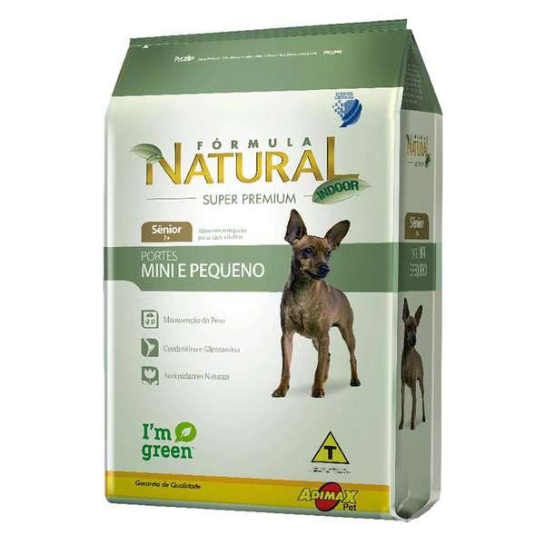 Ração Adimax Pet Formula Natural para Cães Sênior de Porte Mini e Pequeno