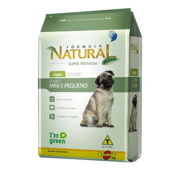 Ração Adimax Pet Formula Natural Light para Cães Adultos de Porte Mini e Pequeno