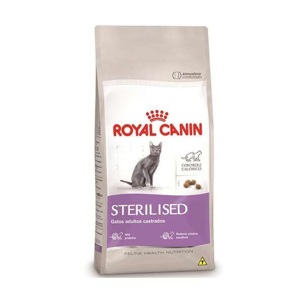 Ração Royal Canin Sterilised 37 para Gatos Adultos