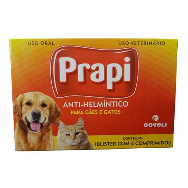 Vermifugo Coveli Prapi - 4 Comprimidos