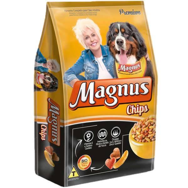 Ração Magnus Chips para Cães Adultos