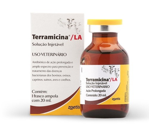 TERRAMICINA LA 20 ML OXITETRACICLINA - ZOETIS