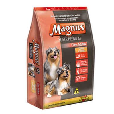 Ração Adimax Pet Magnus Super Premium Carne com Arroz para Cães Adultos