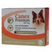 Vermifugo Canex Premium 900 mg para Cães até 10 Kg - 4 comprimidos