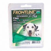 Anti Pulgas e Carrapatos Frontline Plus para Cães de 20 a 40 Kg Tam G