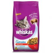 Ração Whiskas Carne para Gatos Castrados