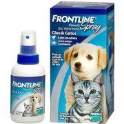 Anti Pulgas e Carrapatos Frontline Spray para Cães e Gatos