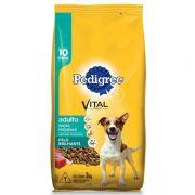 Ração Pedigree Pelo Brilhante para Cães Adultos de Raças Pequenas a partir de 10 Meses de Idade