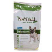 Ração Adimax Pet Formula Natural para Cães Filhotes de Porte Mini e Pequeno