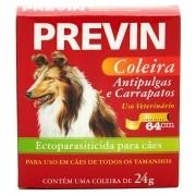 Coleira Antipulgas e Carrapatos Coveli Previn para Cães