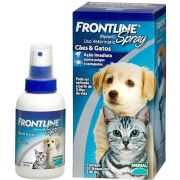 Anti Pulgas e Carrapatos Frontline Spray para C�es e Gatos de 100 mL