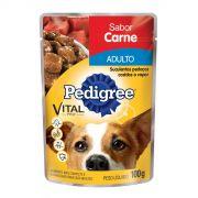 Ração Pedigree Sachê Carne ao Molho para Cães Adultos
