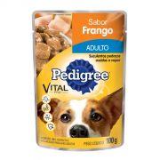 Ração Pedigree Sachê Frango ao Molho para Cães Adultos