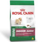 Ração Royal Canin Mini Indoor Junior para Cães Filhotes de Raças Pequenas Ambientes Internos 1Kg