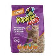 Granulado de Madeira Power Cats