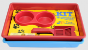 KIT Bandeja Higiênica Four Plastic para Gatos
