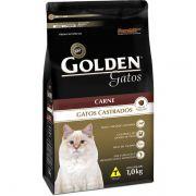 Ração Golden Gatos Adultos Castrados Carne