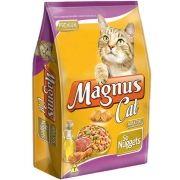 Ração Magnus Cat Só Nuggets Para Gatos Adultos