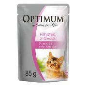 Ração Optimum Sachê Frango para Gatos Filhotes 85g