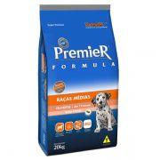 Ração Premier Pet Formula Frango e Arroz para Cães Filhotes de Raças Médias