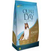 Ração Qualiday Cães Adultos Frango e Arroz - 15kg