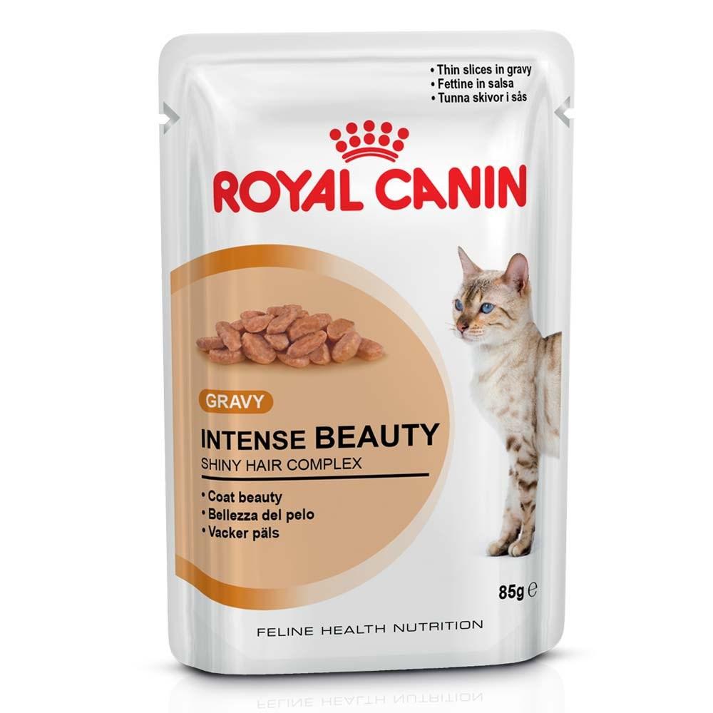 Ração Royal Canin Sachê Feline Intense Beauty para Gatos - 85 g