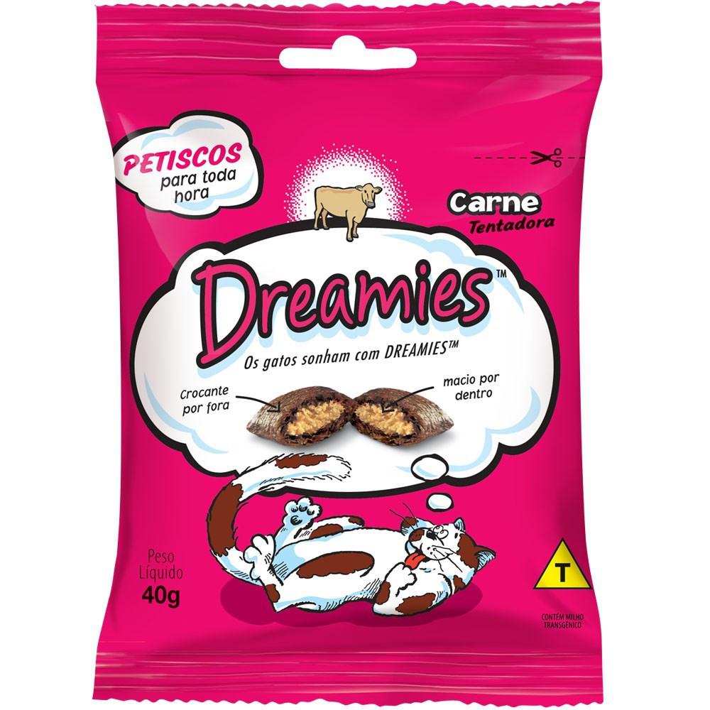 Petisco Dreamies Carne - 40gr