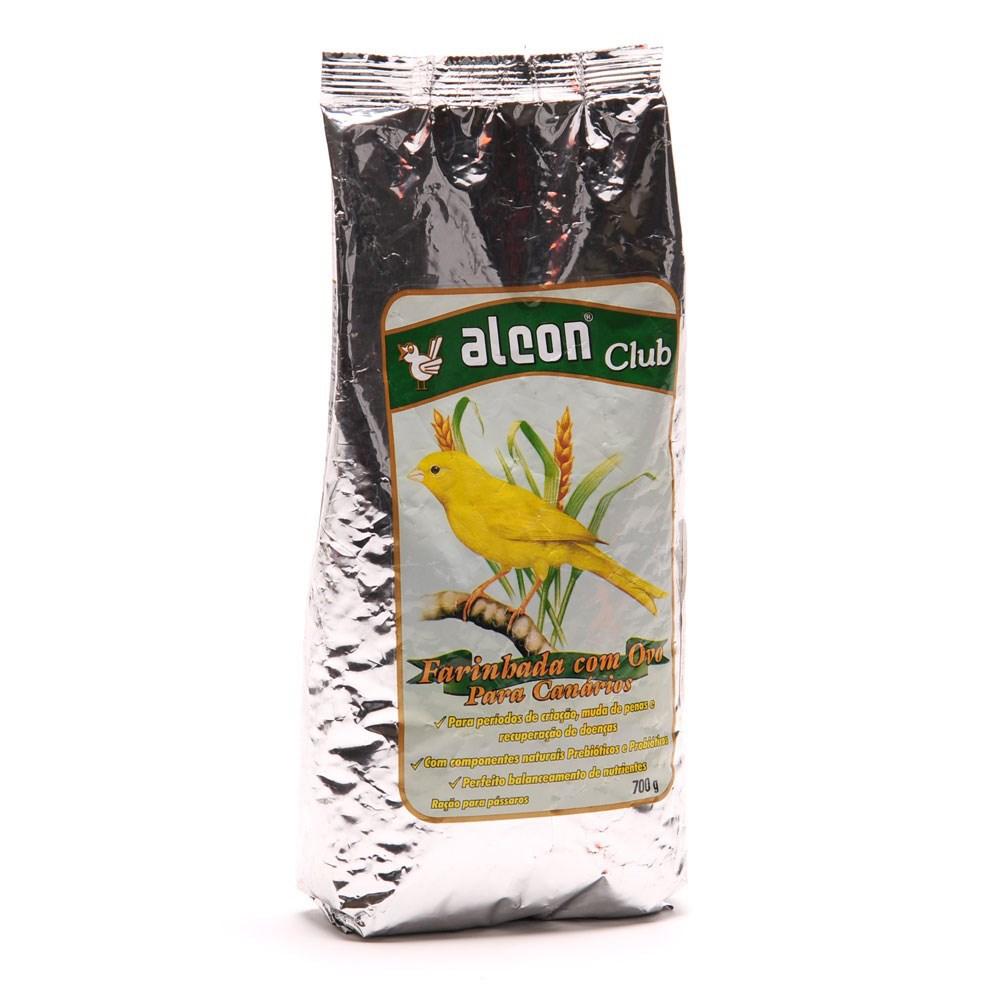Ração Alcon Club Farinhada com Ovo para Canários 700 g