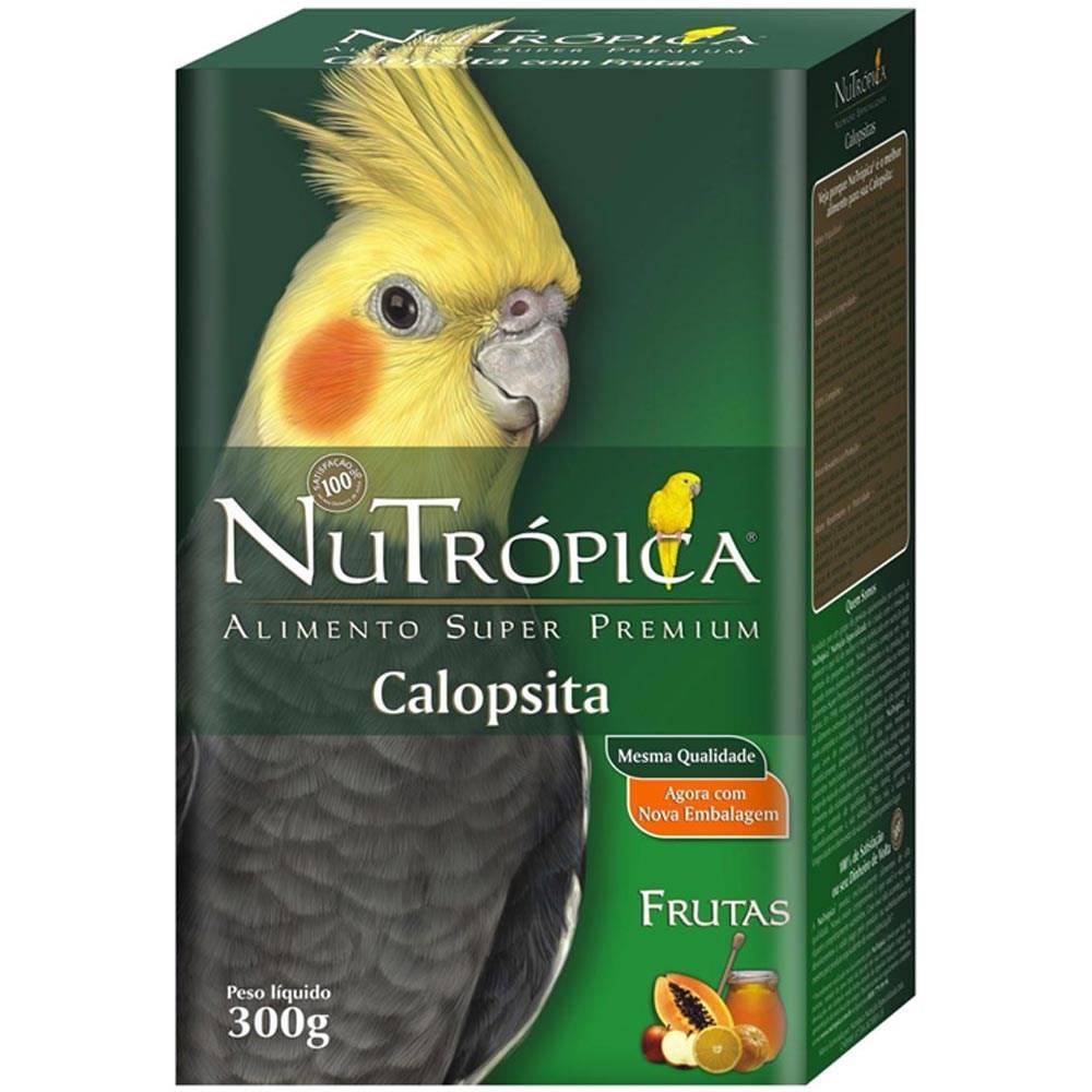 Ração Nutrópica com Frutas para Calopsita