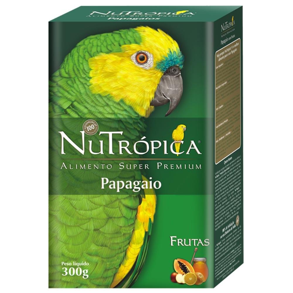 Ração Nutrópica com Frutas para Papagaio