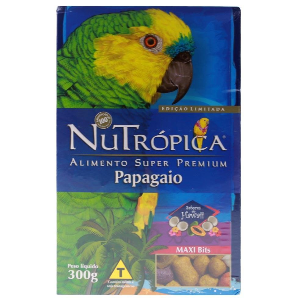 Ração Nutrópica Sabores do Hawaii para Papagaios - 300g
