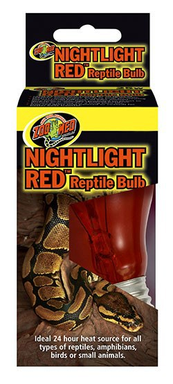 Lâmpada ZooMed Noturna Vermelha Nightlight Red